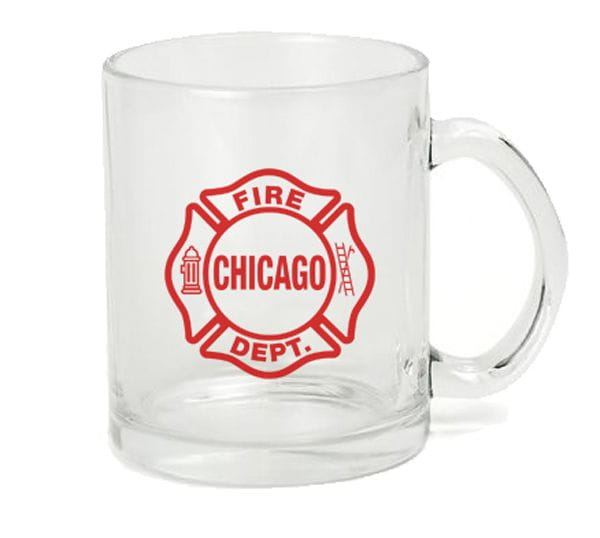 Chicago Fire Dept. - Glas Tasse (300ml)