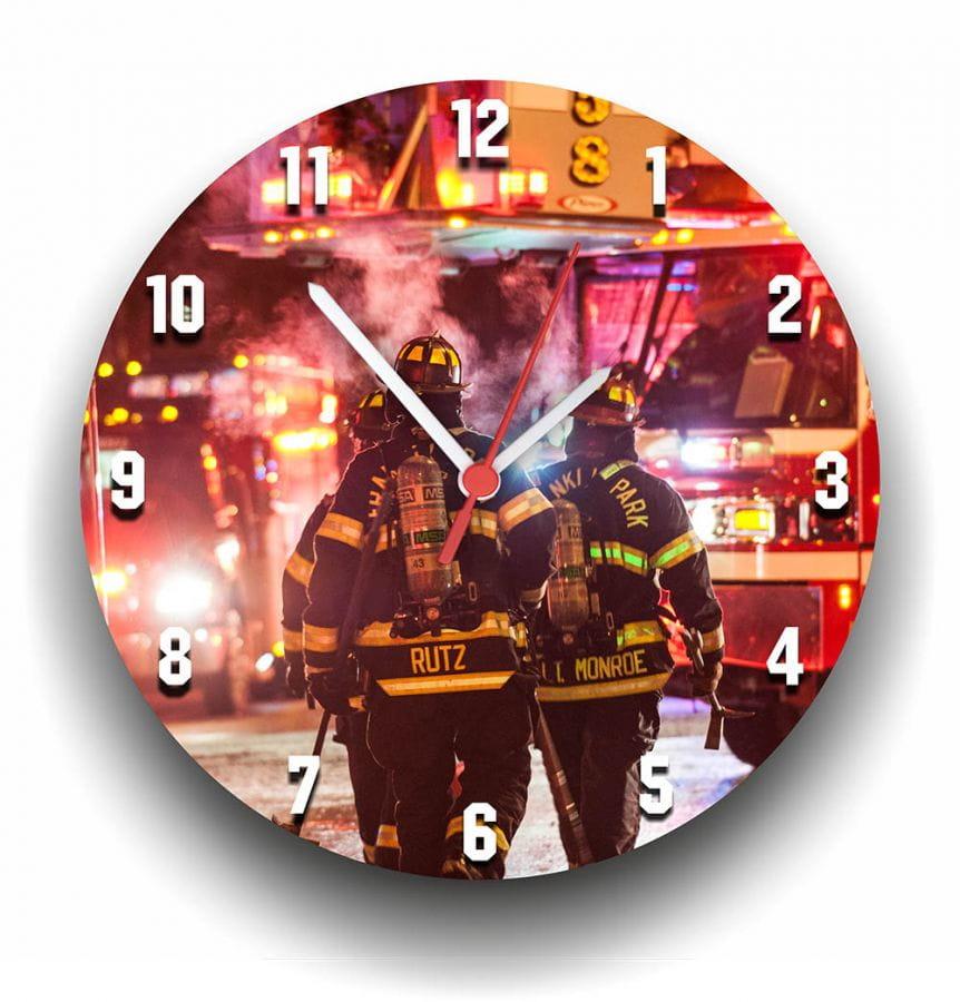 Firefighter – Wanduhr