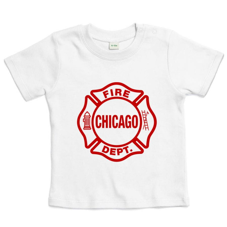 Chicago Fire Dept. - T-Shirt für Babys