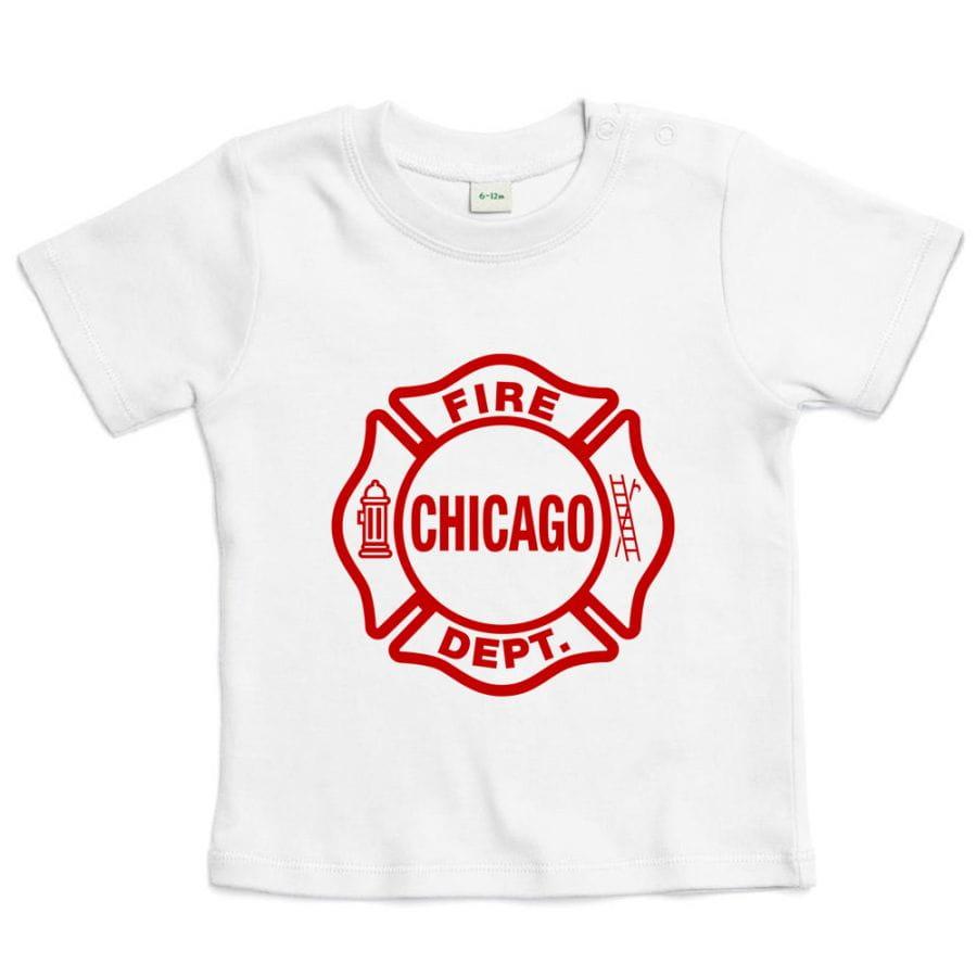 Chicago Fire Dept. - T-shirt for babies