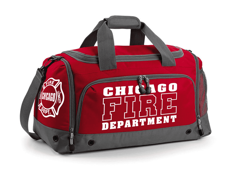 Chicago Fire Dept. sports bag