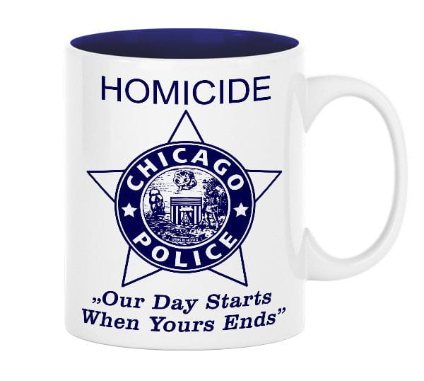 Chicago Police Dept. - Cup (330ml)