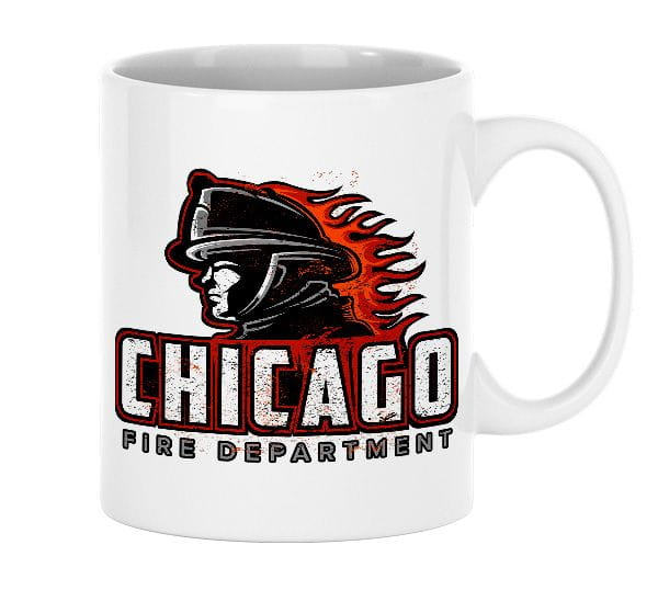 Chicago Fire Dept. - Design Tasse aus Keramik