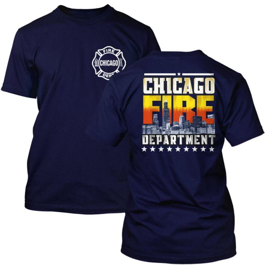 Chicago Fire Dept. - T-Shirt (Skyline Edition)