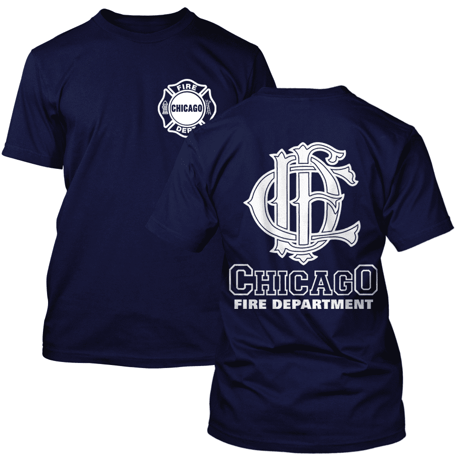 Chicago Fire Dept. - T-Shirt with CFD Logo