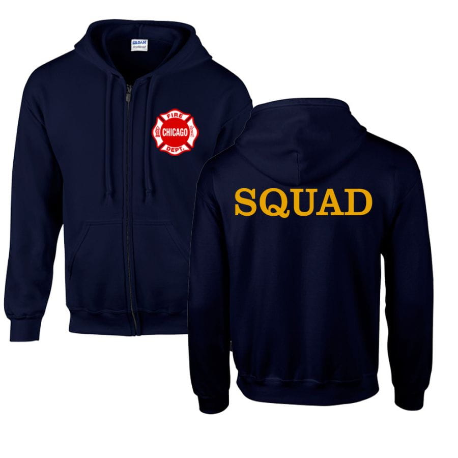 Chicago Fire Dept. - Squad sweat jacket