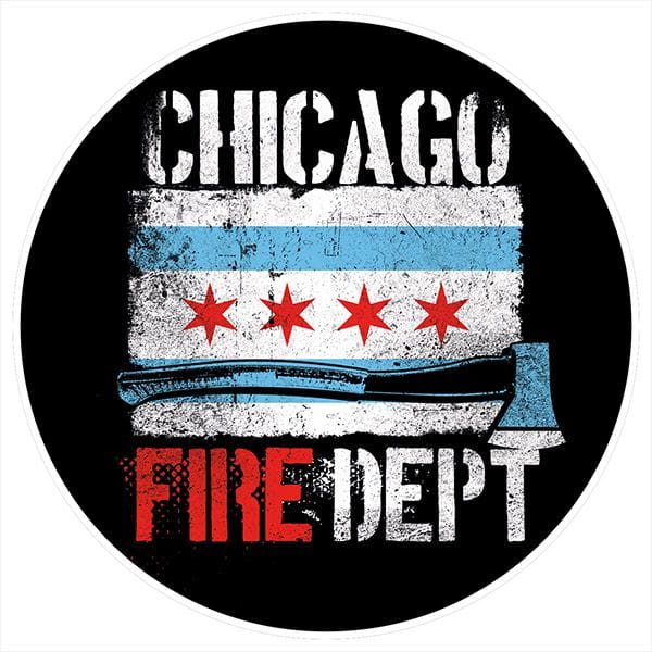 Chicago Fire Dept. - Beermat (set of 5)
