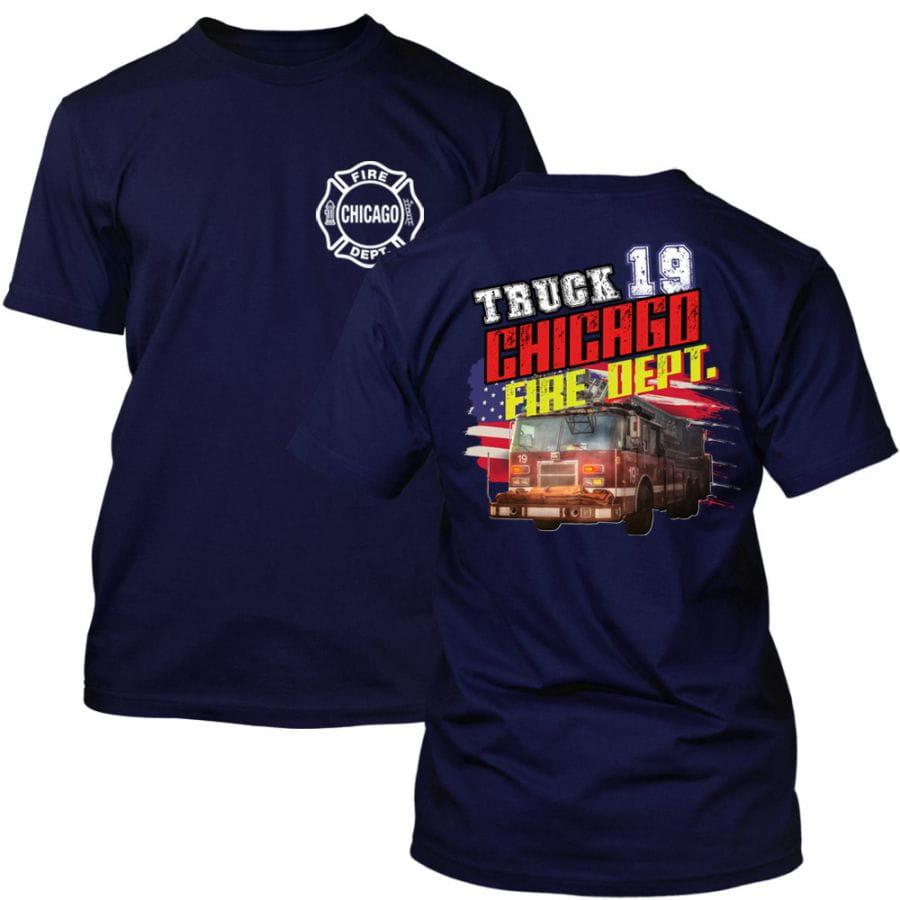 Chicago Fire Dept. - Truck 19 T-Shirt