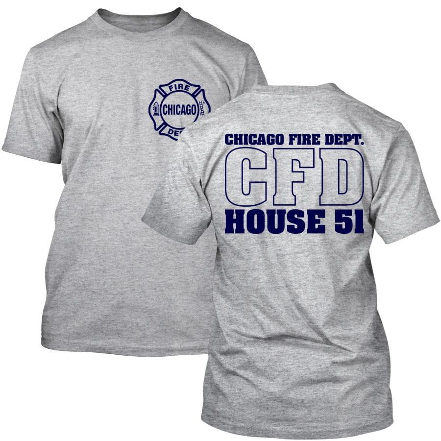 Chicago Fire Dept. - House 51 T-Shirt