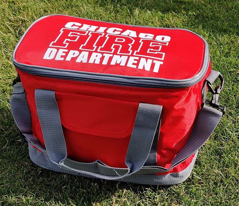 Chicago Fire Dept. - Cooling bag in red (Family)