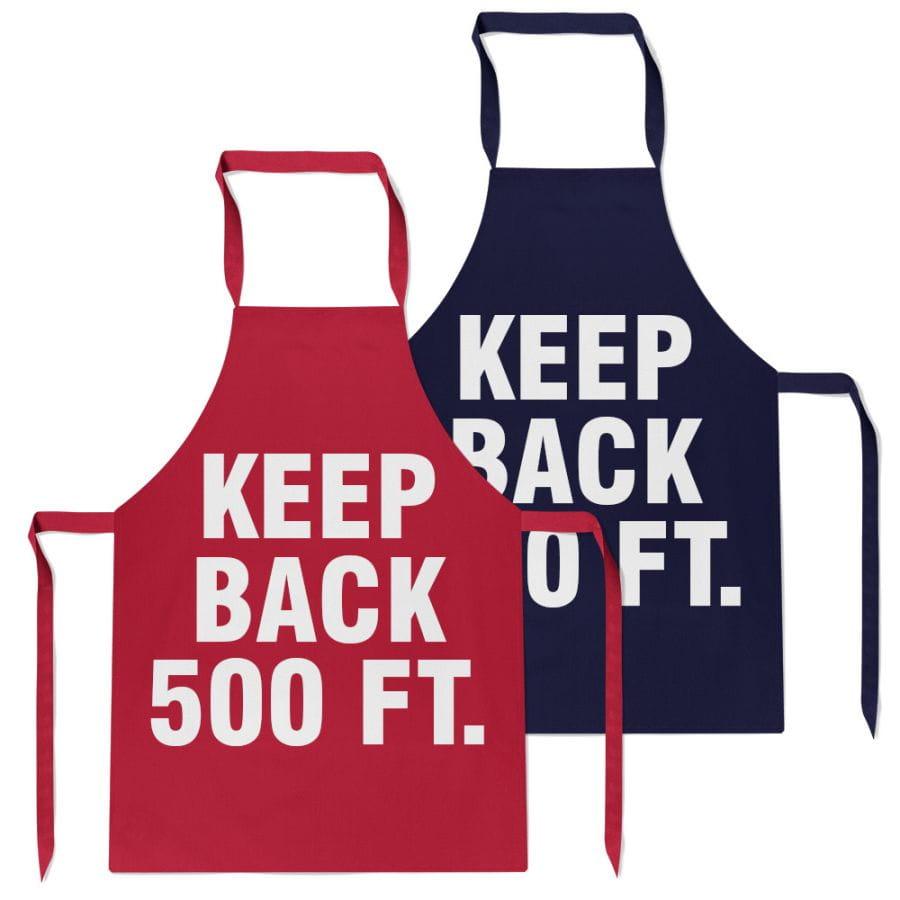 BBQ Grillschürze - Keep Back 500 ft