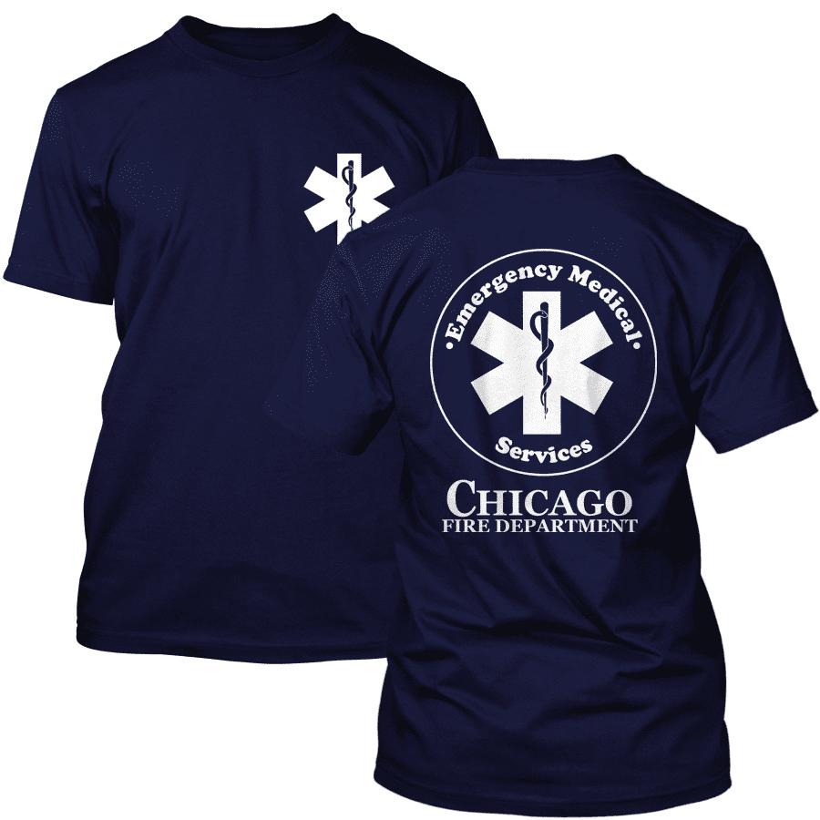 Chicago Fire Dept. Emergency Medical T-Shirt