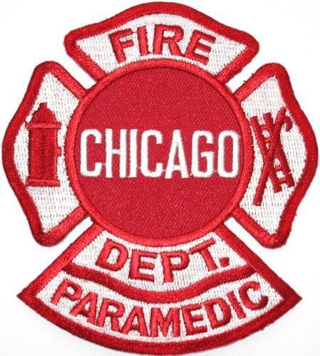Chicago Fire Dept. Paramedic - Patch/Patches
