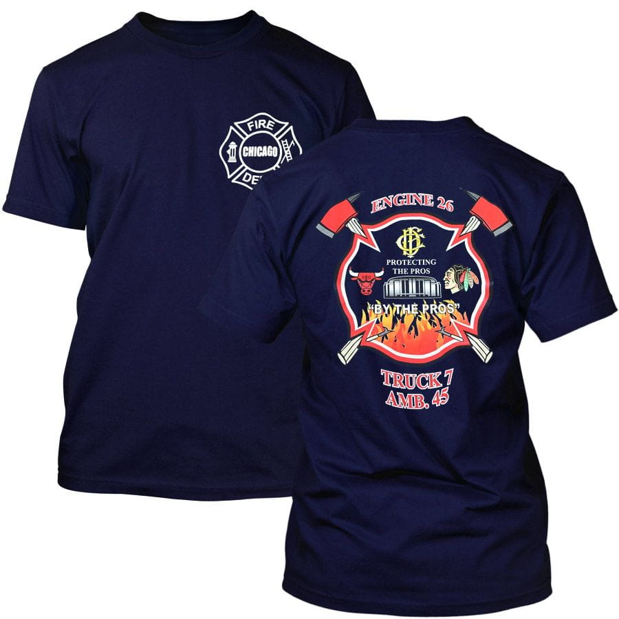 Chicago Fire Dept. - Engine 26 T-Shirt