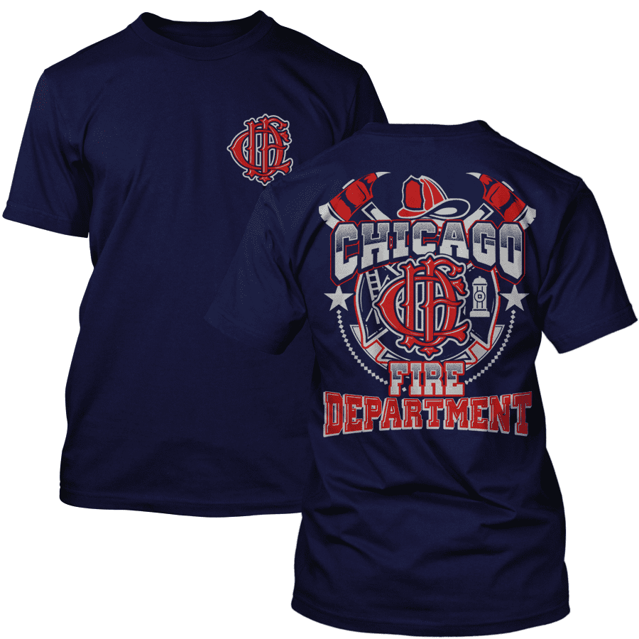 Chicago Fire Dept. - Design T-Shirt