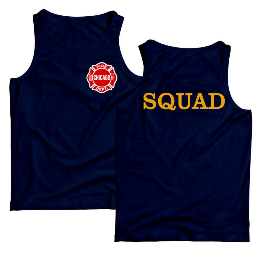 Chicago Fire Dept. - Squad Tank Top