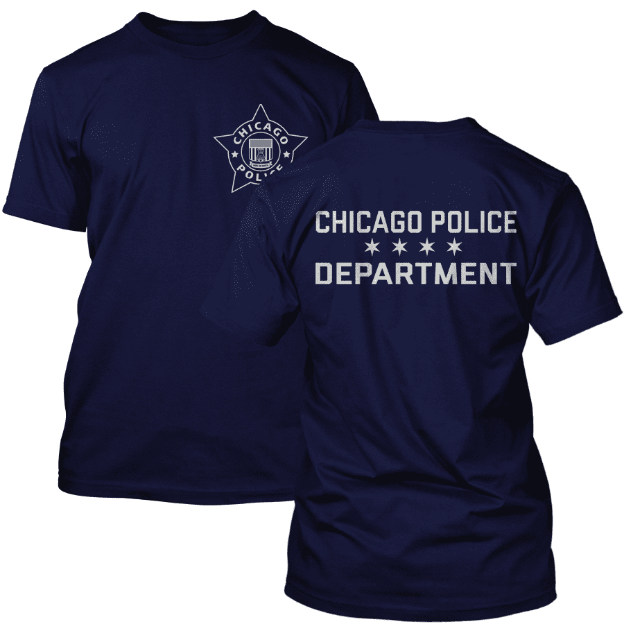 Chicago Police Dept. T-Shirt in navy