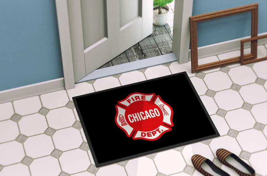 Chicago Fire Dept. - Foot mat