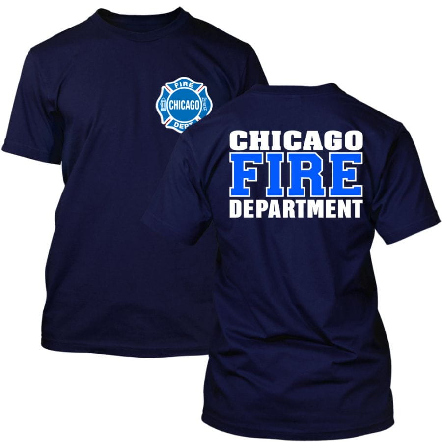 Chicago Fire Dept. - T-Shirt (Blue/White Edition)