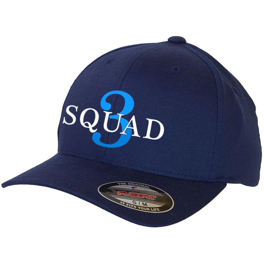 Chicago Fire Department - Baseball Cap (Squad 3 - Blue Edition)