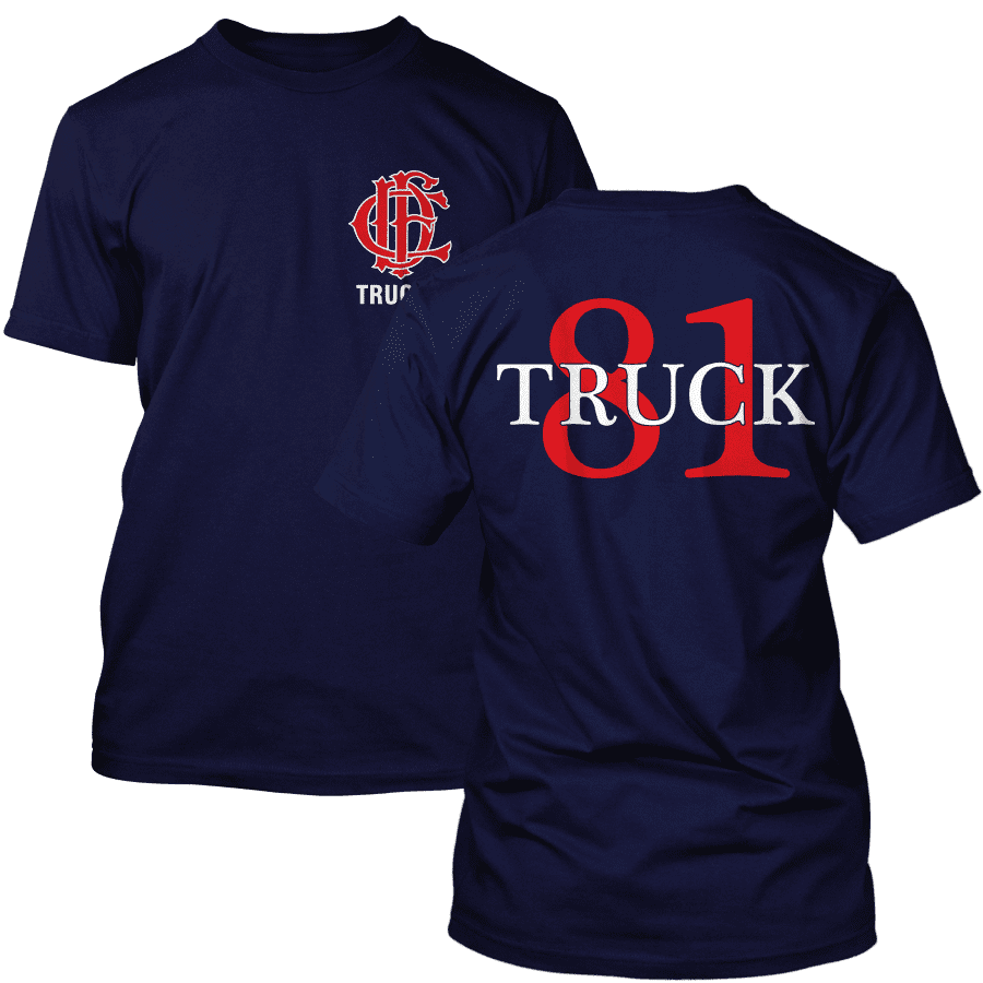 Chicago Fire Dept. - Truck 81 T-Shirt