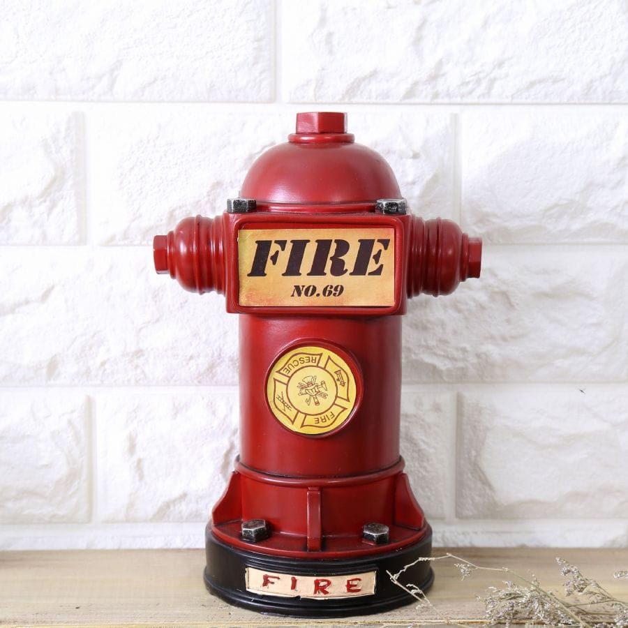 Fire Department - Hydrant money box (23cm)
