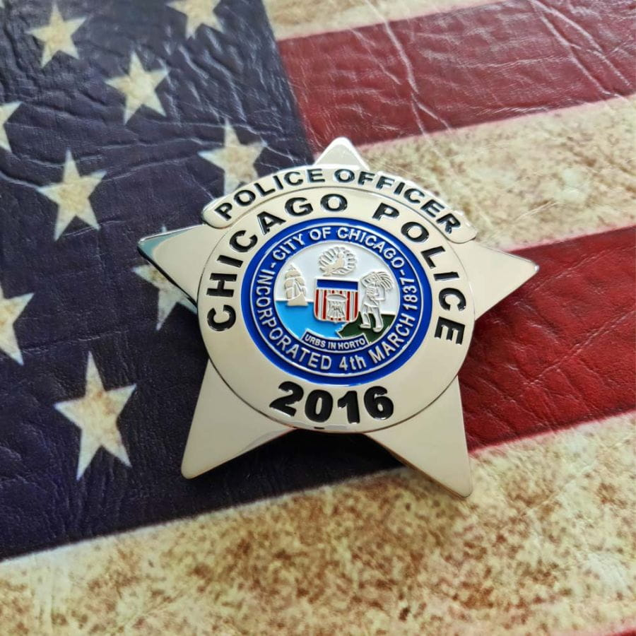 Chicago Police Dept. - Metal Badge / Badge - Police Officer