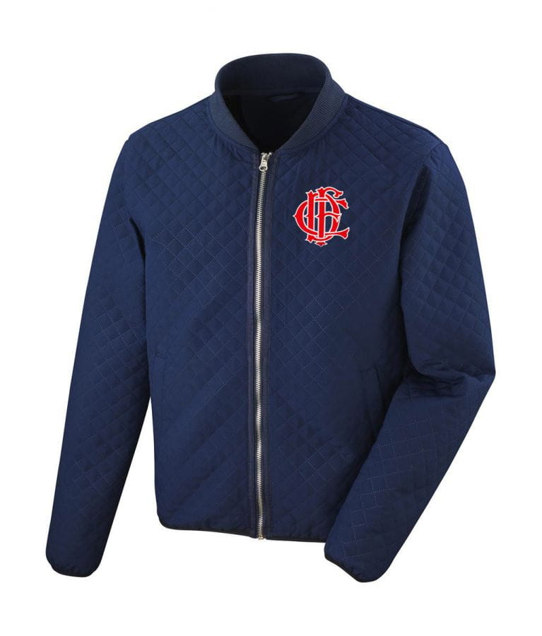 Chicago Fire Dept. - quilted jacket for women (logo selectable)