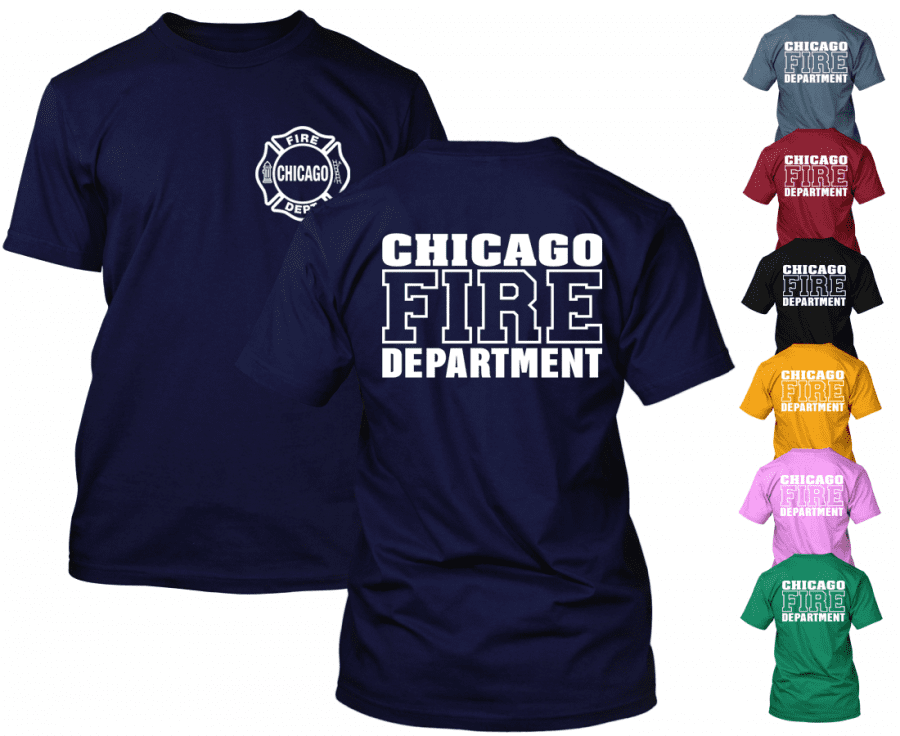 Chicago Fire Dept. - T-Shirt (Version 2)