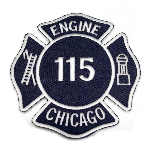 Chicago Fire Dept. - Engine 115 Patch / Patch