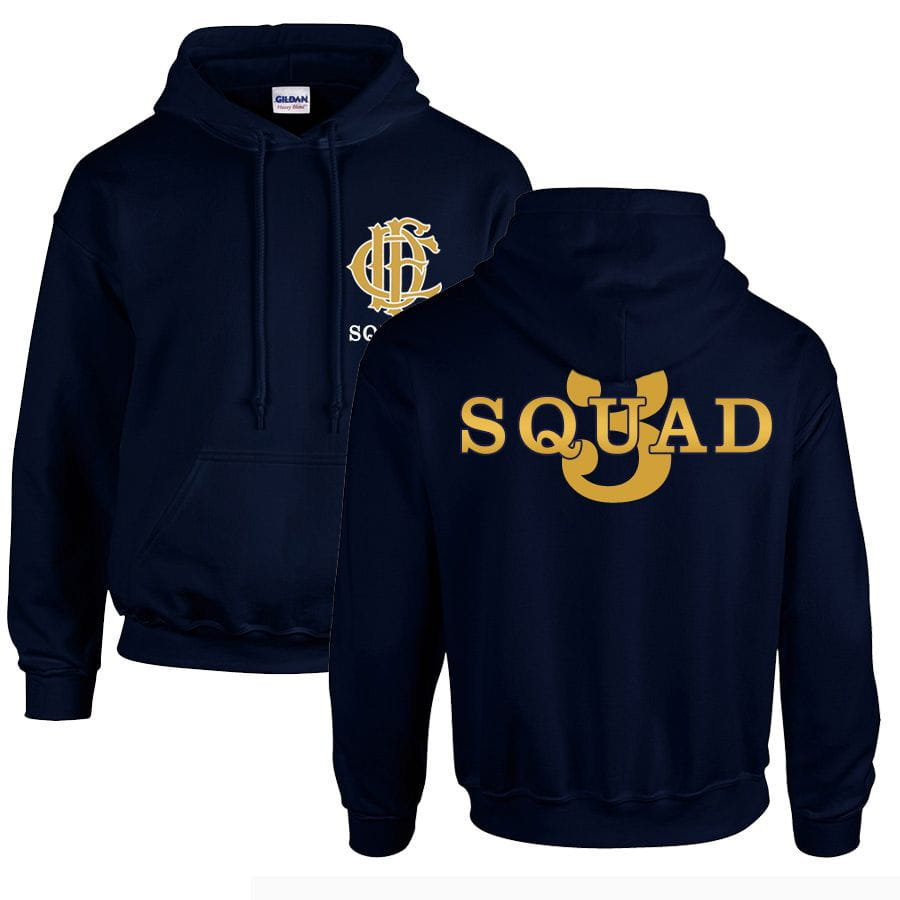 Chicago Fire Dept. - Squad 3 Hooded Sweater (Gold Edition)