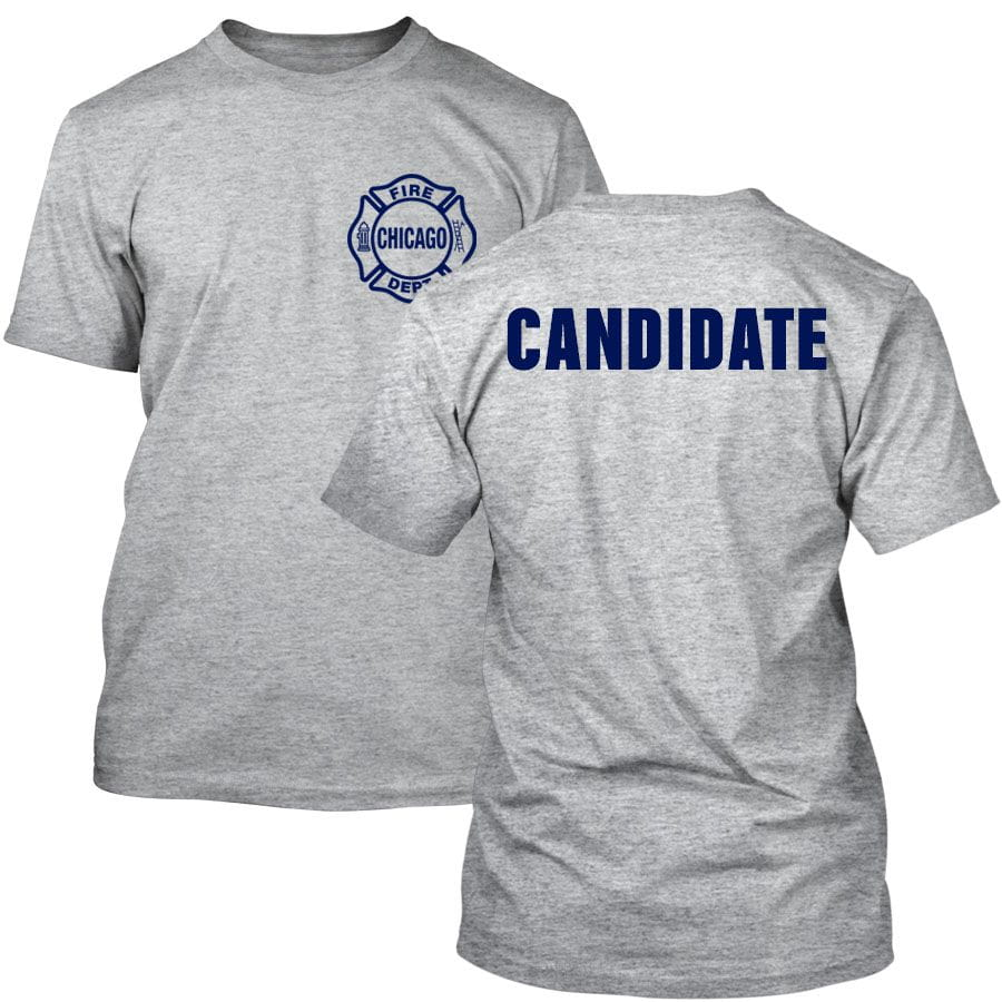 Chicago Fire Dept. - Candidate T-Shirt in grau