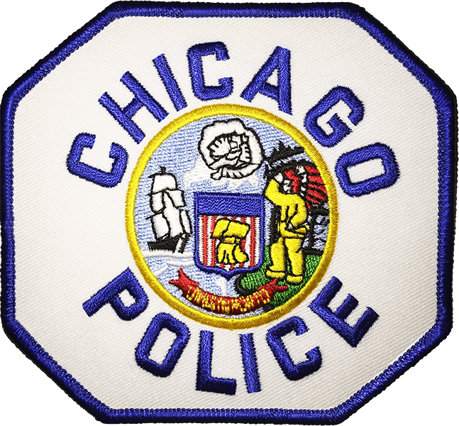 Chicago Police Dept. - Patch/Aufnäher