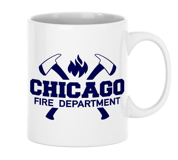 Chicago Fire Dept. - ceramic cup (330ml)