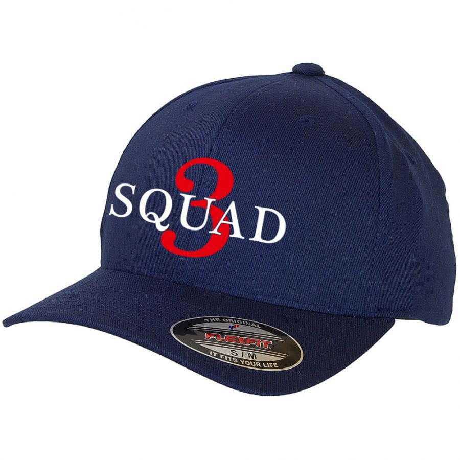 Chicago Fire Department - Basecap (Squad 3)