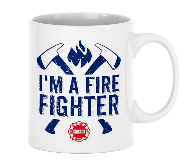 I'm a Firefigther - Ceramic cup (330ml)