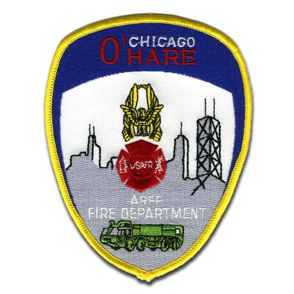 Chicago Fire Dept. - O'Hare Patch / Patch