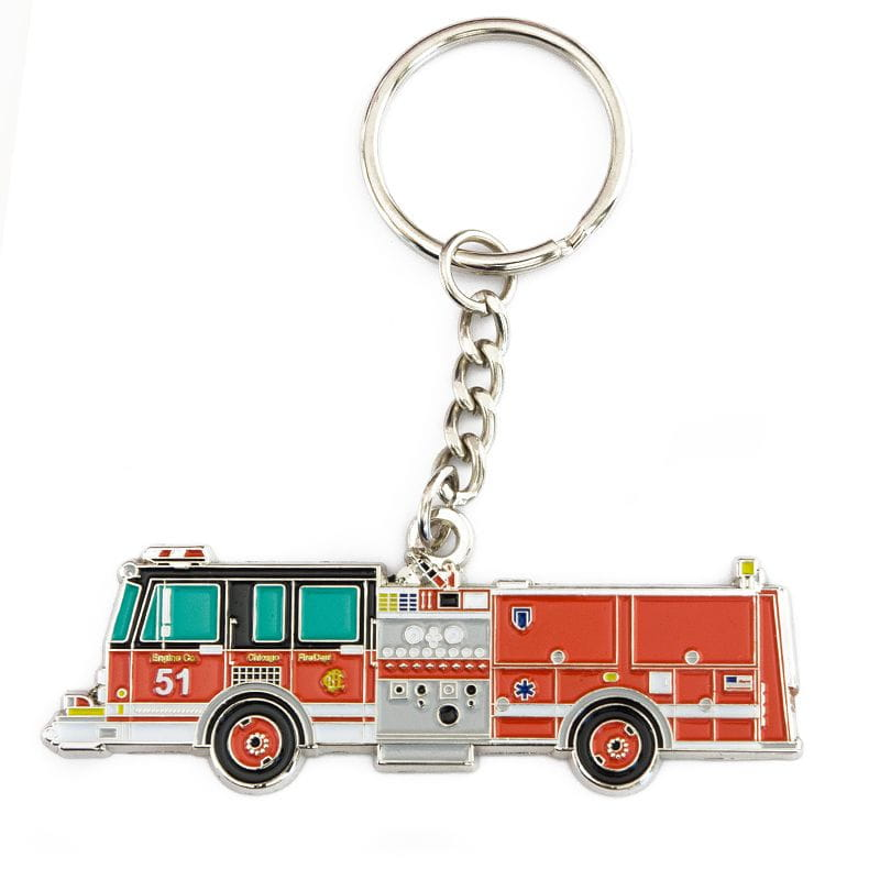 Chicago Fire Dept. - Engine 51 - Schlüsselanhänger