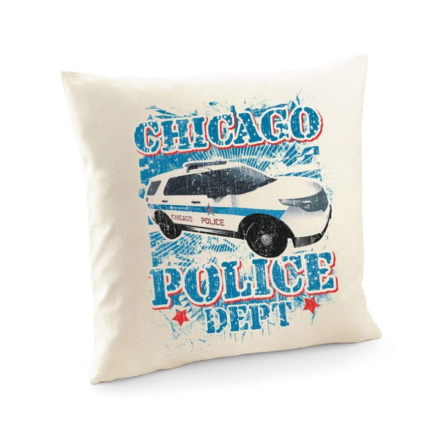 Chicago Police Dept. - Police Car - Pillowcase