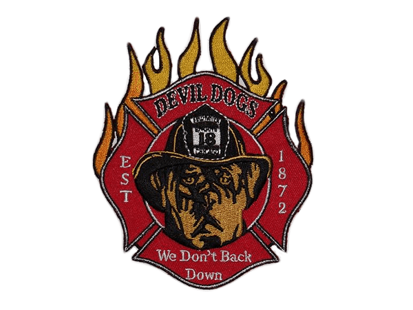 Engine 18 - Devil Dogs - Chicago Fire Dep. patch