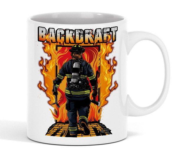 Backdraft Tasse aus Keramik (330ml)