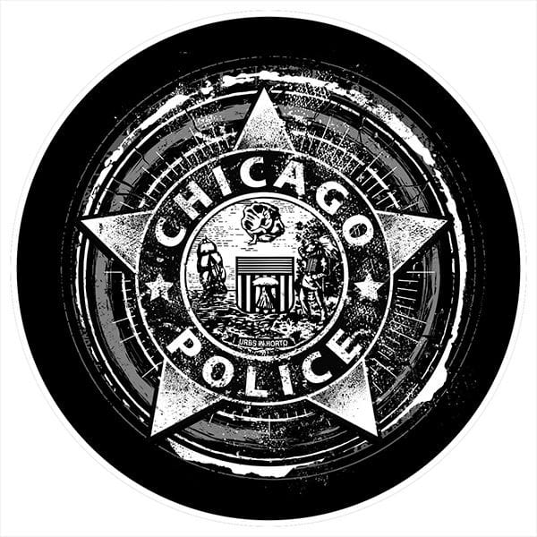 Chicago Police Dept. - Beermat (set of 5)