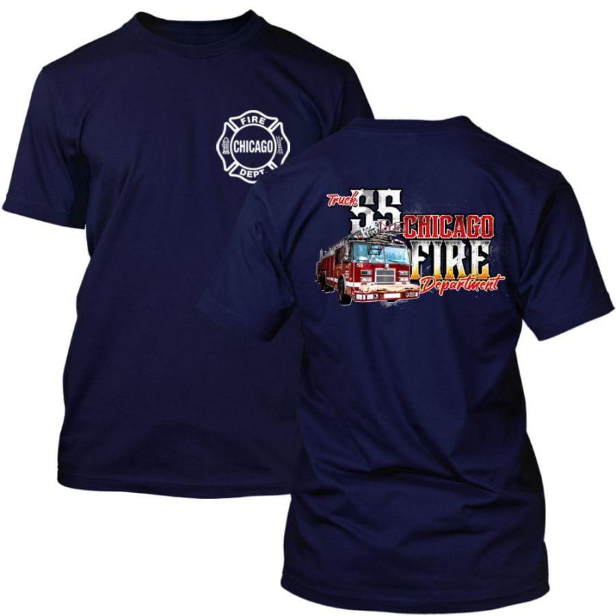 Chicago Fire Dept. - Truck 55 T-Shirt
