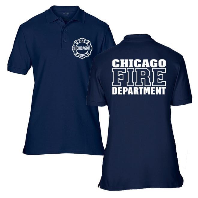 Chicago Fire Dept. - Polo shirt