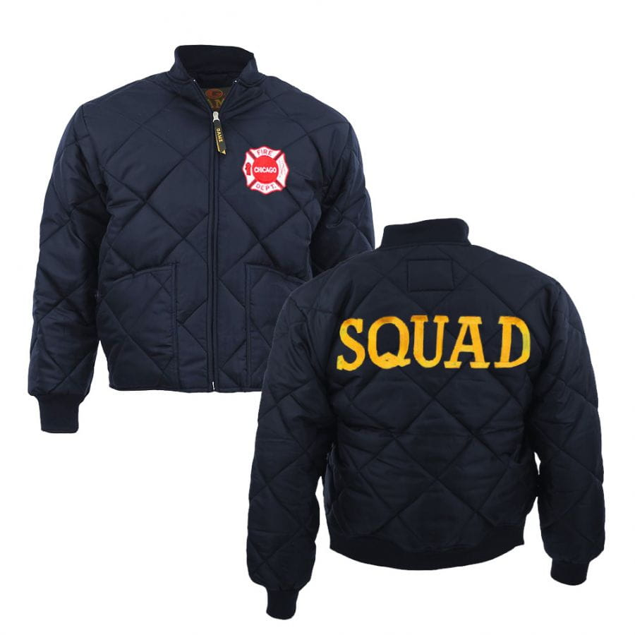 Chicago Fire Dept. quilted jacket (Squad Edition)