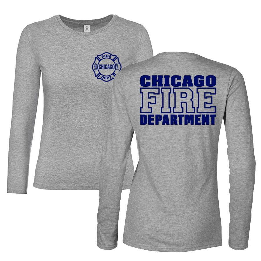 Chicago Fire Dept. - Long T-Shirt für Frauen