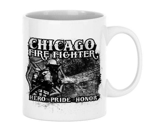 Chicago Fire Dept. - Hero, Pride, Honor - Ceramic mug