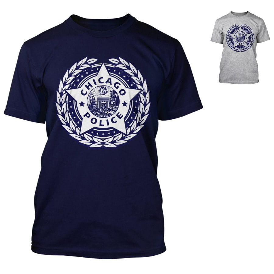 Chicago Police Dept. - T-Shirt with Logo