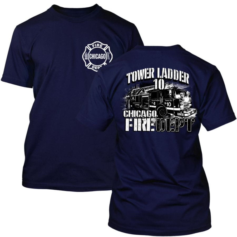Chicago Fire Dept. - Tower 10 T-Shirt