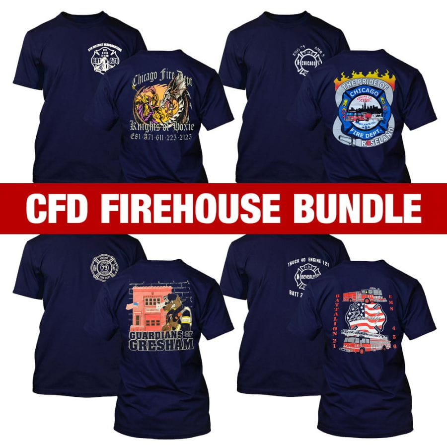 Chicago Fire Dept. - Firehouse Spar Set